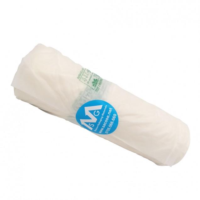 Pungi biodegradabile in rola, 250x300 mm, 500 buc/rola