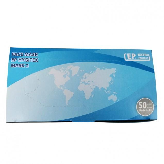 Masti medicale de unica folosinta, conform EN 14683, tip II, 50 buc/cutie