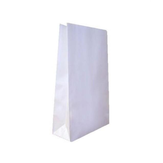 Punga hartie alba, netiparita, 0.5 kg, 100 buc/set