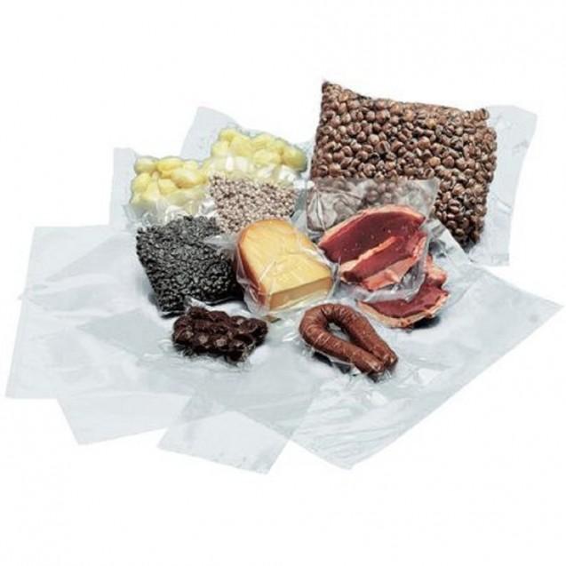 Pungi alimentare gofrate pentru vidat, 200x350 mm, 90 MICRONI, 100 buc/set